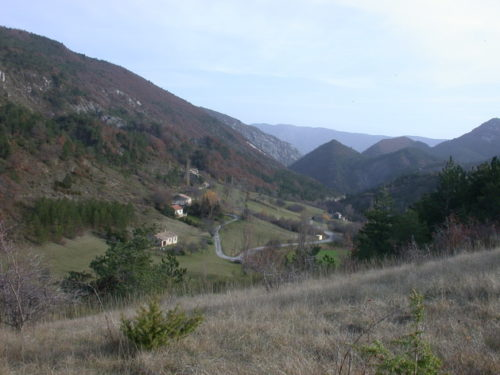 La combe d'Arnayon ; habitat dispersé