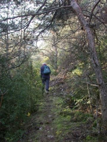 La montée vers le Col de la Pertie