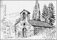 La chapelle de Léoux