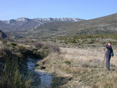 Le plateau de Léoux