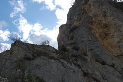 Le passage vers Lan Combe de Chalancon