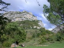 Le rocher de Chalancon