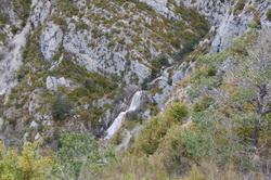 La cascade du Pas de l'Echaillon