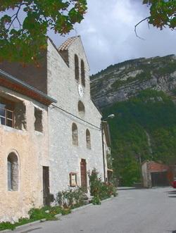 L'église de Chalancon