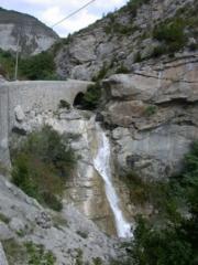 La cascade du Pas de l'Echelle