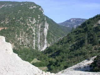 La cluse de La Charce