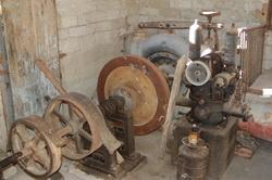 Restes de la turbine Pelton