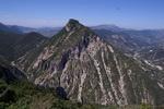 Vue sur la montagne  de St Roman