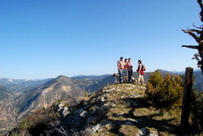 Le sommet de Piégros
