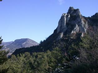 Le rocher de St Martin