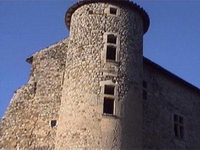 Le château de La Charce