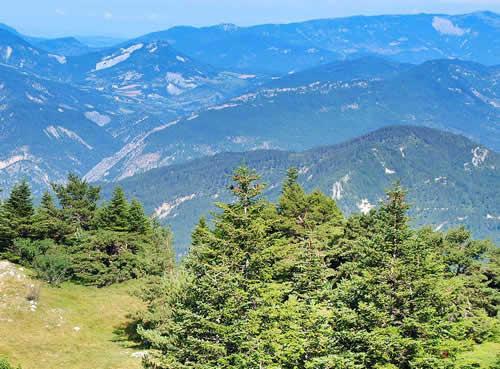 Randonnées La Motte Chalancon